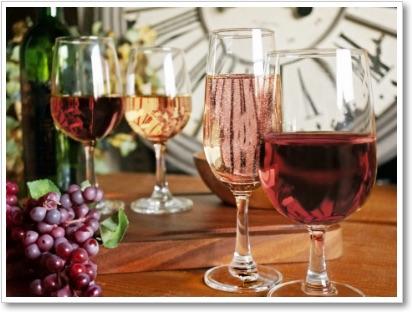 こだわりのグラスで乾杯
